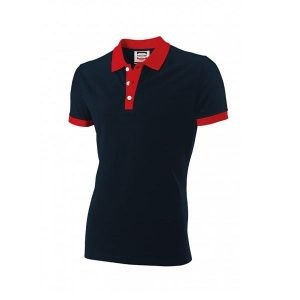 Poloshirt Bi-Color Slim-Fit