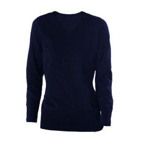 Dames pullover v-hals