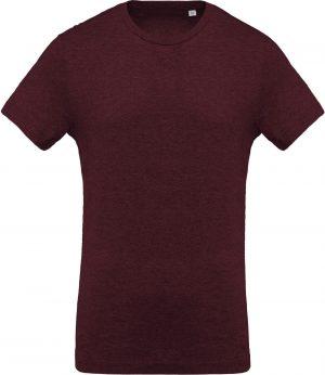 Heren-t-shirt BIO-katoen ronde hals