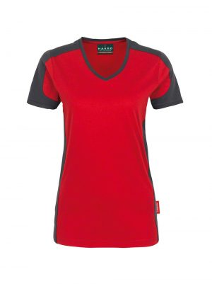 Hakro T-shirt Contrast Performance Dames