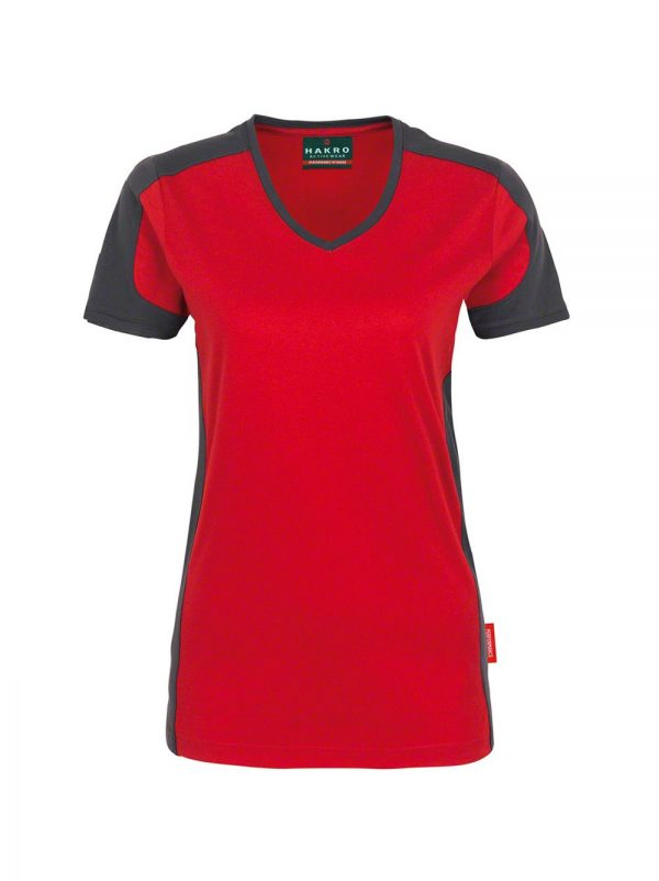 Hakro T-shirt Contrast Performance Dames