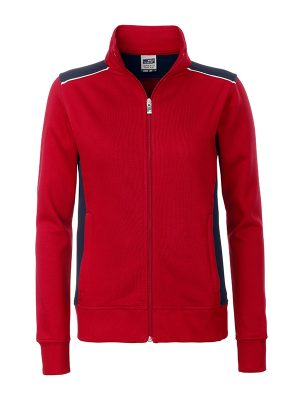 J&W Automotive Ladies Sweatjacket