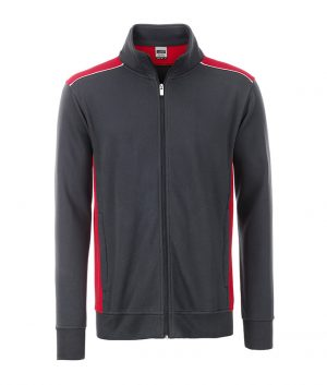 J&W Automotive Mens Sweatjacket