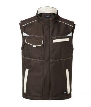 J&W Automotive Workwear Softshell Vest